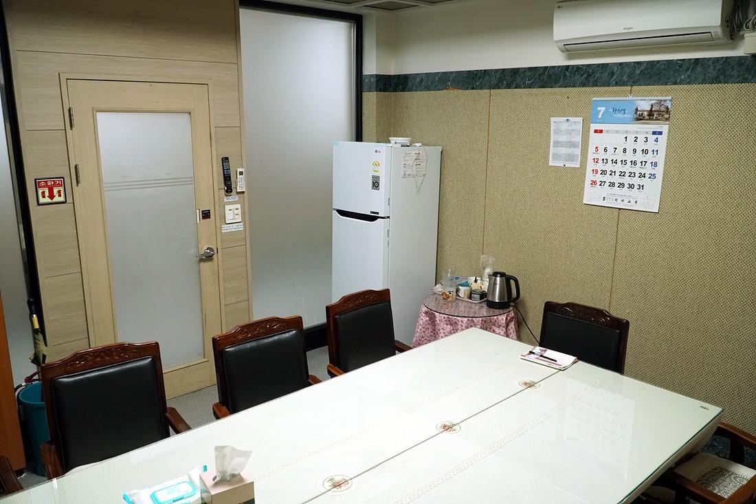 본관1층-은장실(은퇴장로실)